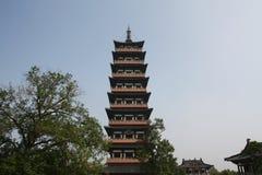 Башня Aicent в Янчжоу Стоковая Фотография RF