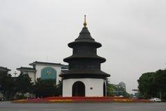 Башня Aicent Wenchangge в Янчжоу Стоковые Изображения