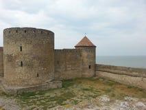 Башня Akkerman и rampart стоковое изображение rf
