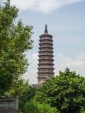 Башня Bai Dinh стоковые фотографии rf