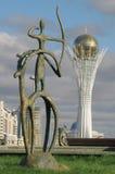 башня baiterek стоковые фотографии rf
