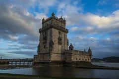 Башня belem, Лиссабона, Португалии Стоковое фото RF