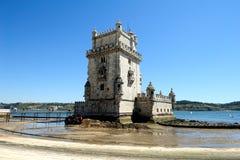 Башня Belem, Лиссабон Португалия Стоковые Изображения RF