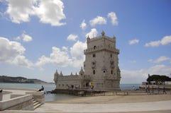 башня belem Стоковое Фото