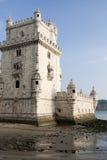 башня belem lisbon Португалии Стоковое фото RF