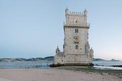 башня belem lisbon Стоковое Изображение RF