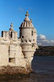 башня belem lisbon Стоковые Изображения RF