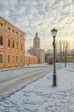 Башня Bibliotechnaya lavra Александра Nevsky Стоковая Фотография RF