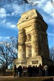 башня bismarck stuttgart Стоковая Фотография