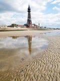 башня blackpool стоковое фото rf