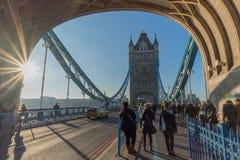 башня bridge1 Стоковое Изображение RF