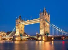 башня bridge1 london Великобритания стоковое изображение rf