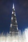 Башня Burj Khalifa Стоковые Изображения RF