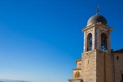 Башня Cajetani колокольни стоковая фотография rf