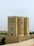 башня calahorra cordoba Испании Стоковое Изображение RF