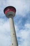 башня calgary стоковое изображение
