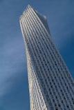 Башня Cayan в Марине Дубай Стоковое Изображение RF
