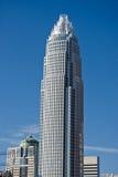 башня charlotte банка америки Стоковое Изображение