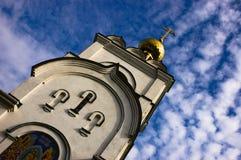 башня churh Стоковая Фотография