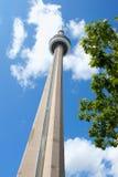 Башня CN в Торонто, Канаде Стоковые Изображения