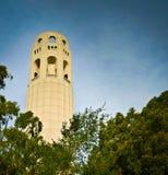 Башня Coit Стоковое Изображение RF
