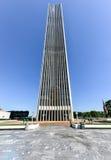 Башня Corning в площади Имперского штата в Albany, Нью-Йорке Стоковые Изображения RF