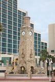 башня daytona часов пляжа Стоковые Изображения
