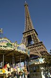 башня eiffel Франции Стоковая Фотография