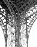башня eiffel детали структурная Стоковая Фотография
