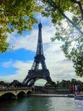 башня eiffel paris Франция стоковая фотография