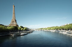 башня eiffel paris Франция Стоковое Изображение