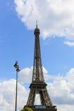 башня eiffel paris Стоковые Изображения