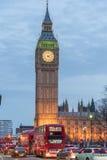 Башня Elisabeth и большое Бен Стоковое Фото