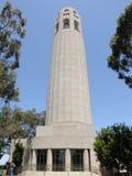 башня francisco san coit стоковое изображение