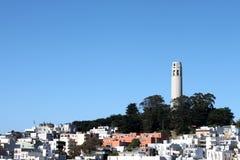 башня francisco san coit Стоковые Изображения