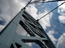башня franklin моста Бенжамина Стоковое Изображение