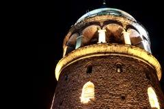 Башня Galata в Стамбуле Стоковая Фотография RF