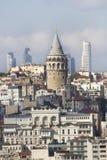 Башня Galata, Стамбул, Турция Стоковое Фото