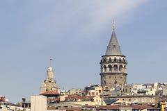 башня galata Стоковые Изображения