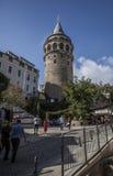 Башня Galata Стоковые Изображения RF