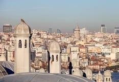Башня Galata Стоковая Фотография