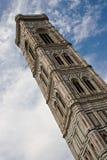 башня giotto s колокольни колокола Стоковое Изображение