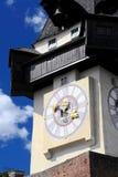 башня graz часов старая Стоковые Изображения