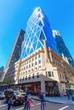 Башня Hearst в Манхаттане, Нью-Йорке стоковое фото