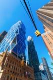 Башня Hearst в Манхаттане, Нью-Йорке стоковые фотографии rf