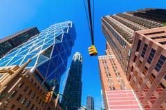 Башня Hearst в Манхаттане, Нью-Йорке стоковая фотография rf