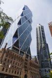 Башня Hearst в Нью-Йорке, редакционном стоковые фотографии rf
