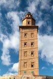 башня hercules Corunna, Испания Стоковые Изображения RF