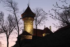 Башня Hněvin Стоковые Фото