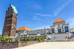 Башня Hochzeitsturm на колонии художников Kuenstler Kolonie в Darms Стоковое фото RF